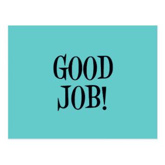 GOOD JOB! POSTCARDS