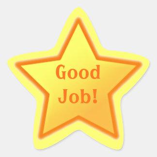 Good Job! Star Sticker