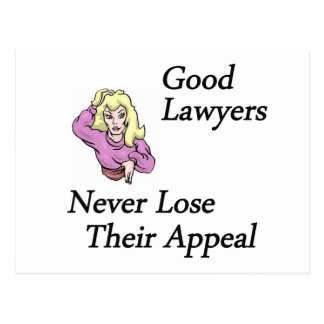 Good Lawyers Postcard