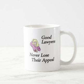 good lawyers woman basic white mug