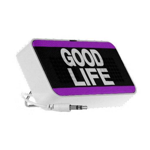 Good Life Long Purple Mp3 Speakers