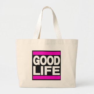 Good Life Pink Canvas Bags
