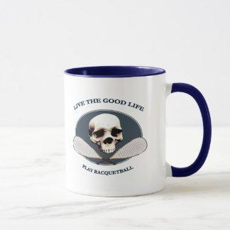 Good Life Racquetball Mug