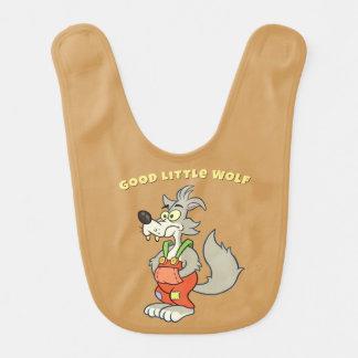 Good Little Wolf Baby Bib v2