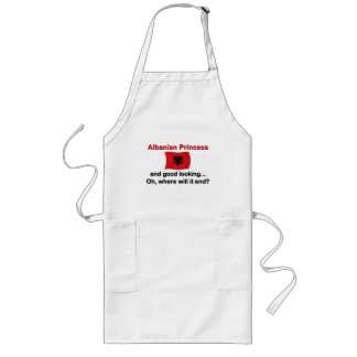 Good Lkg Albanian Princess Long Apron