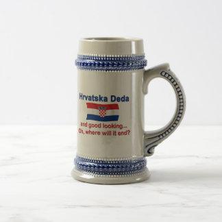 Good Lkg Croatian Deda (Grandpa) Beer Stein