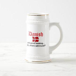 Good Looking Danish Beer Stein