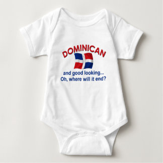 Good Looking Dominican Baby Bodysuit
