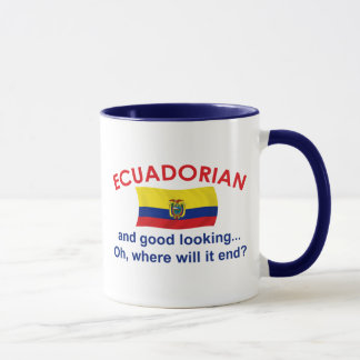 Good Looking Ecuadorian Mug