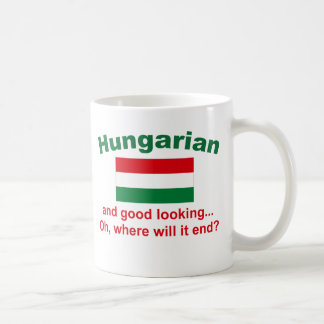 Good Looking Hungarian Coffee Mug