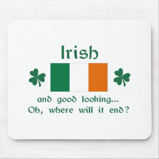 Good Looking Irish Mouse Pad