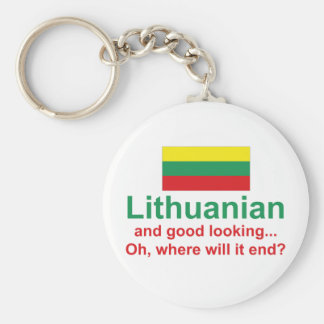 Good Looking Lithuanian Key Ring