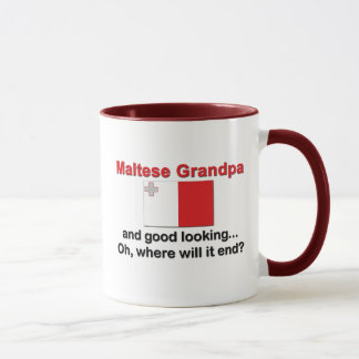 Good Looking Maltese Grandpa Mug