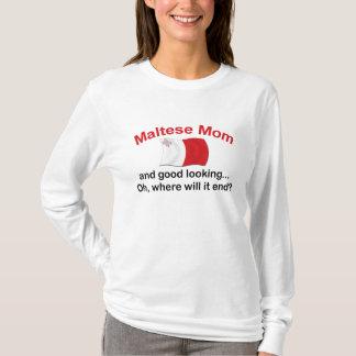 Good Looking Maltese Mom T-Shirt