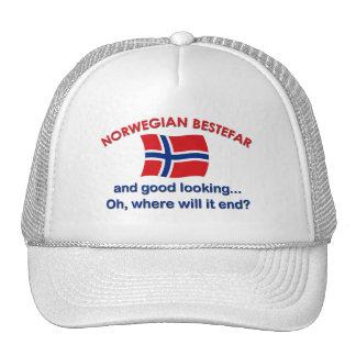 Good Looking Norwegian Bestefar Hats