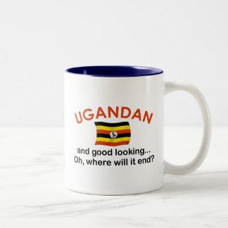 Good Looking Ugandan Two-Tone Coffee Mug