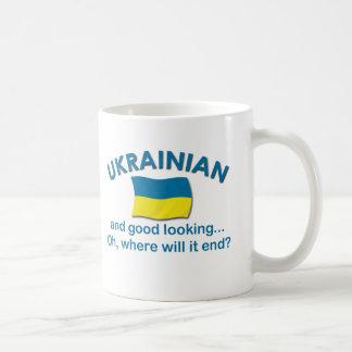 Good Looking Ukrainian Basic White Mug