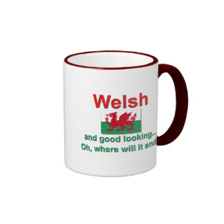 Good Looking Welsh Ringer Mug