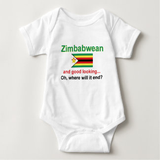Good Looking Zimbabwean Baby Bodysuit