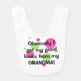 Good Looks From Grandma, Obviously Bib