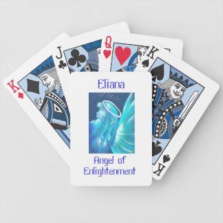 Good luck angel - Eliana angel of enlightenment Poker Deck