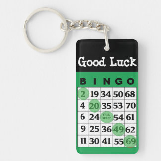 Good Luck BINGO Charm Key Chain