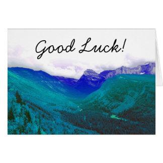 Good Luck Card - Glacier National Park Photograph
