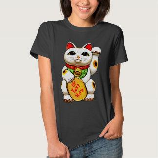 good luck cat,maneki neko t-shirt