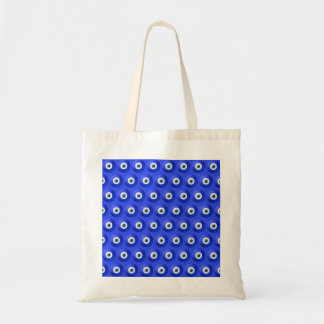 Good Luck Charms against Evil Eye Pattern Budget Tote Bag