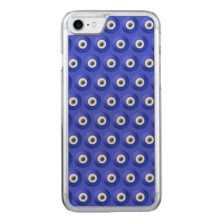 Good Luck Charms against Evil Eye Pattern Carved iPhone 7 Case