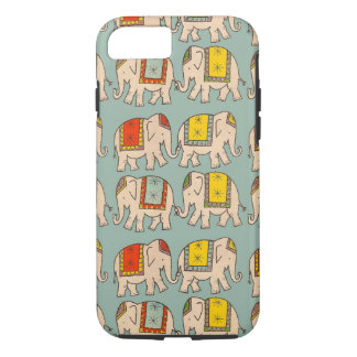 Good luck circus elephants cute elephant pattern iPhone 7 case