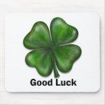 Good Luck Clover Mousemats
