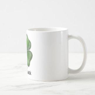 Good Luck Clover Coffee Mug