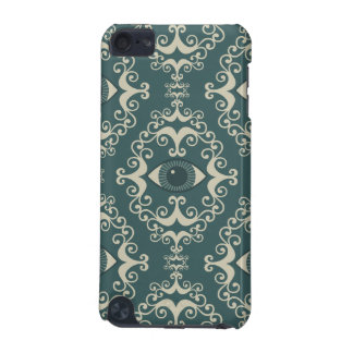 Good luck damask evil eye teal wallpaper pattern iPod touch 5G cover