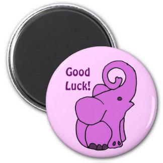Good Luck Elephant Magnet