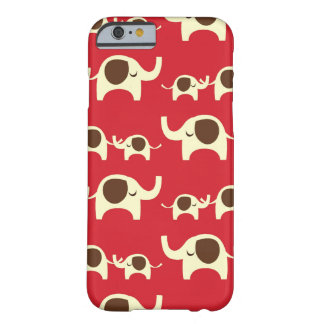 Good luck elephants cherry red iPhone 6 case skin