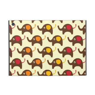 Good luck elephants kawaii cute nature pattern iPad mini case