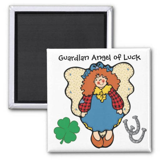 Good Luck Guardian Angel by SRF Magnets