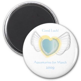 Good Luck Magnet For March