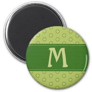 Good Luck Monogram C 6 Cm Round Magnet
