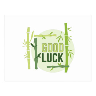 Good Luck Postcard