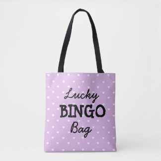 Good Luck PURPLE BINGO Bag