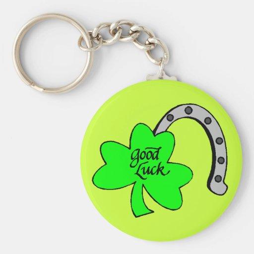 Good Luck Shamrock keychain