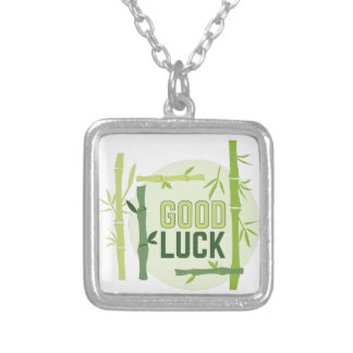 Good Luck Silver Plated Necklace
