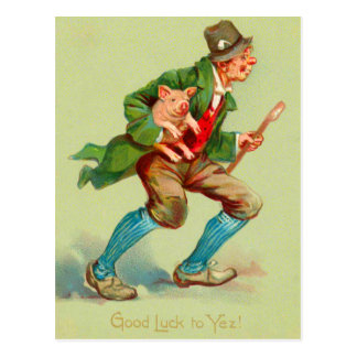 Good Luck St Patrick s Day Postcards