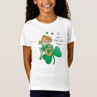Good Luck St. Patrick's Day Irish Fairy T-Shirt