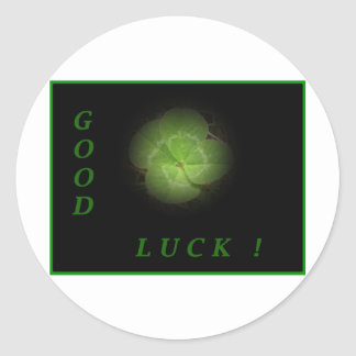Good luck stickers