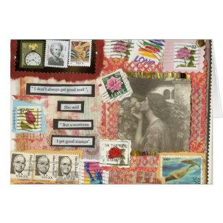 Good Mail Notecard by Mary Dunham Walters