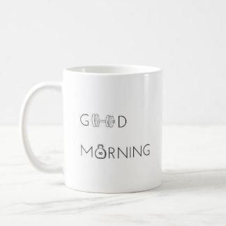 """Good Morning"" - Classic White Mug"