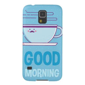 Good Morning Coffee Addicts Galaxy S5 Case